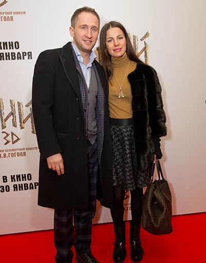 Оскар Кучера с женой Юлией