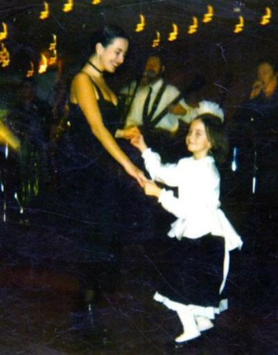 Фриске с маленькой сестрой