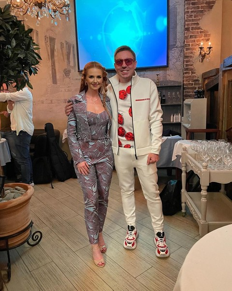 Певица познакомилась со Спиридоновым на его дне рождения