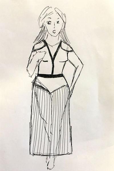Артистка мечтает помочь полным женщинам, которые хотят выглядеть стильноАртистка мечтает помочь полным женщинам, которые хотят выглядеть стильно