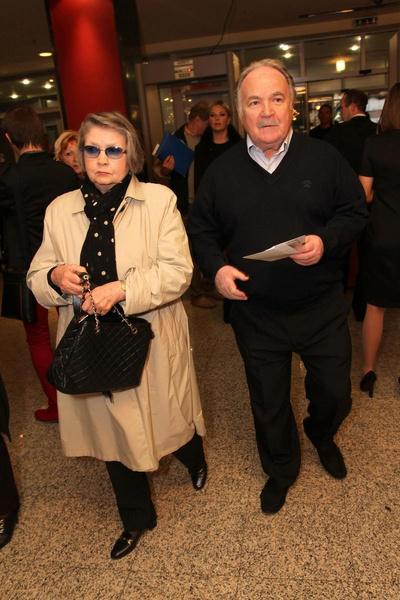 Николай Губенко с супругой