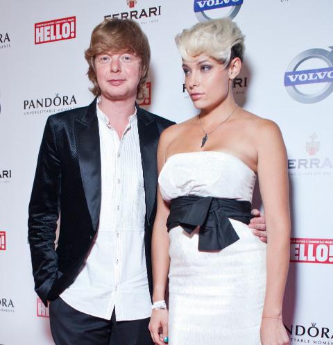 Андрей с бывшей женой Машей