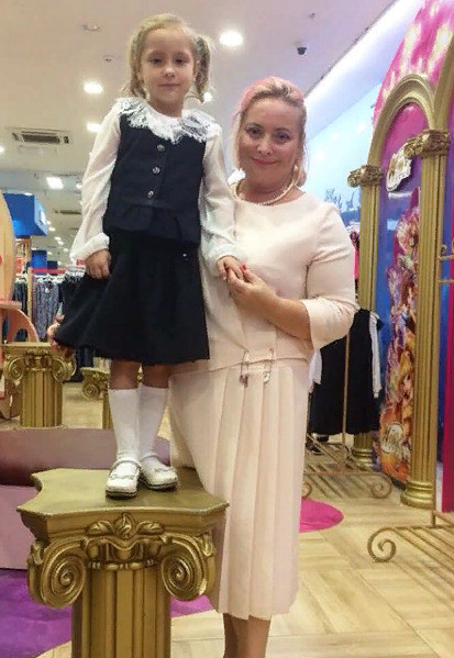 Светлана Пермякова с дочерью Варварой