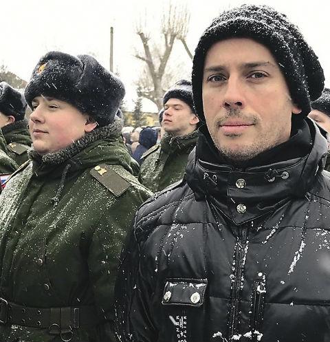 Максим приехал на присягу племянника