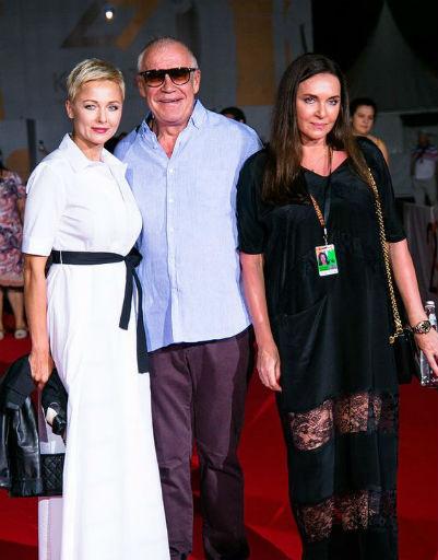 Дарья Повереннова, Сергей Гармаш и Татьяна Лютаева
