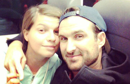 Агния Кузнецова и ее супруг Максим Петров