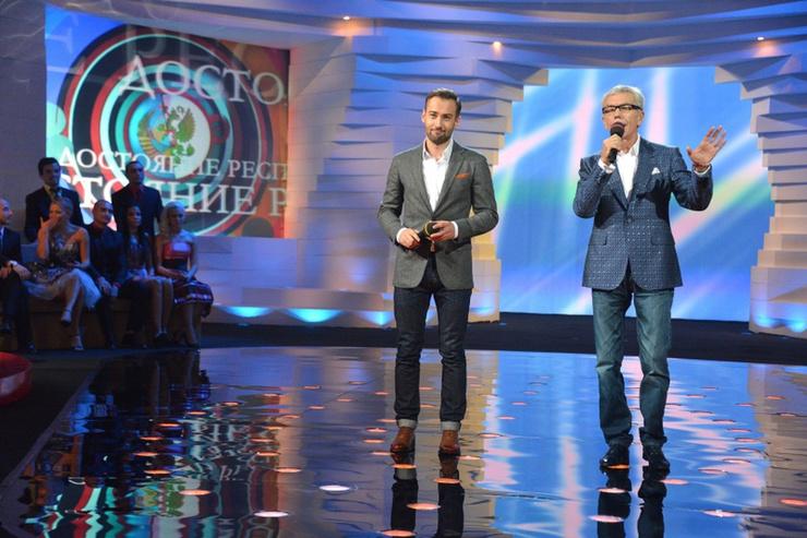 Дмитрий Шепелев вел программу «ДОстояние РЕспублики» в паре с Юрием Николаевым