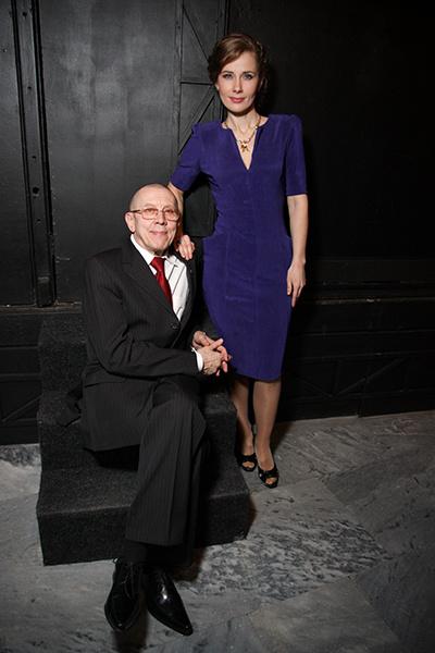 Валерий с Ириной Линдт