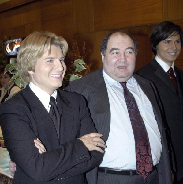 Николай Басков и Борис Шпигель