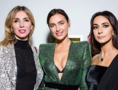 Шейк, Рудковская и Бондарчук поразили шикарными нарядами на шоу известного бренда