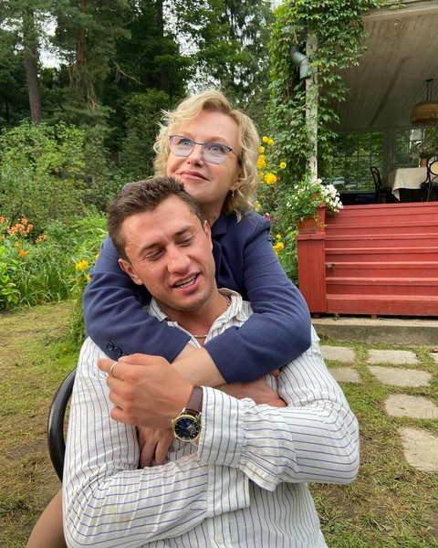 Ирина Розанова и Павел Прилучный