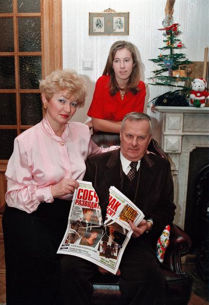 Собчак был очень привязан к жене и дочери