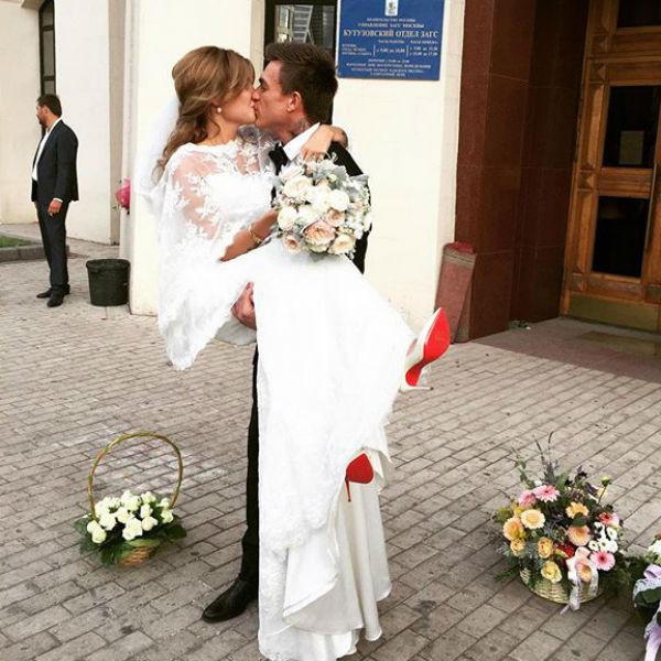 Свадьба Топалова и Данилиной состоялась в сентябре 2015 года