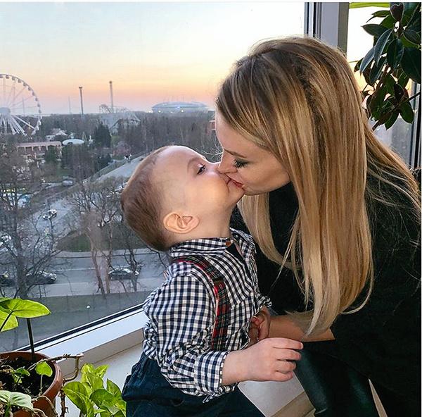 Супруг запрещал Милане видеться с сыном