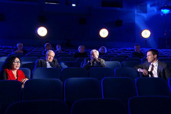 В качестве места съемок выбрали кинотеатр
