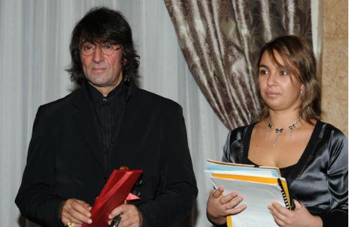 Юрий Башмет и его дочь Ксения