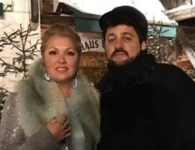 Анна Нетребко и Юсиф Эйвазов с размахом отметили ситцевую свадьбу