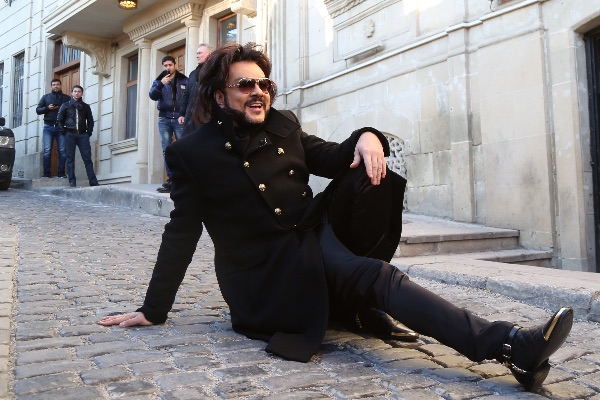 Филипп Киркоров побывал и на знаменитой улочке, где снимали фильм «Бриллиантовая рука»