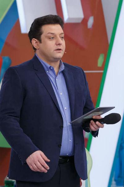 Актер часто работает на телевидении в качестве ведущего