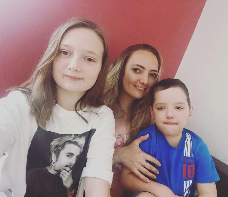 Сегодня Светлана с детьми проживает в Словении