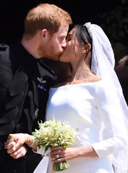 Меган и Гарри поженились 19 мая в Виндзоре