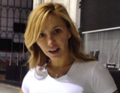 Татьяна Навка носит футболку в честь младшей дочери