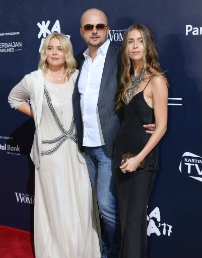 Сын Софии Ротару Руслан с женой Светланой и дочерью Соней