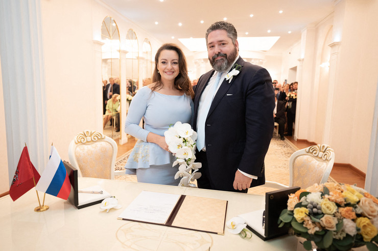 Георгий Романов и Ребекка Беттарини