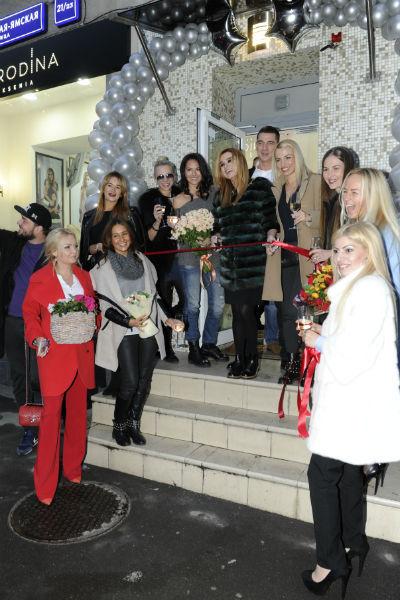 В этот радостный день Ксению поддержали близкие друзья