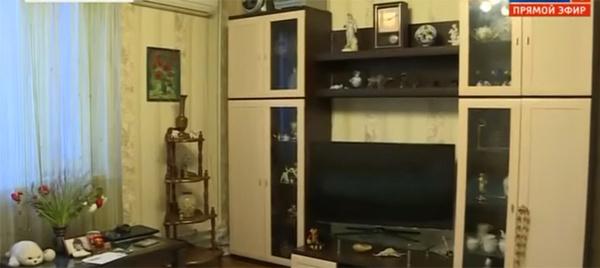 Комната, где жили Захаров и Стерхова