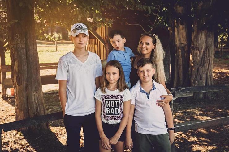 Семья Романа Малкова, оставшегося в Словении