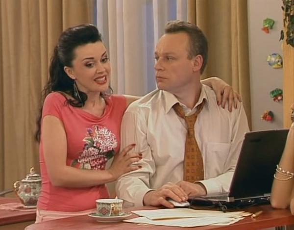 Анастасия и Сергей много лет снимались вместе в сериале «Моя прекрасная няня»