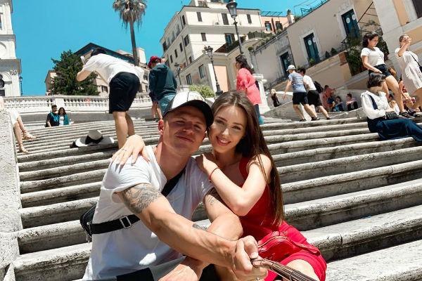Анастасия и Дмитрий провели несколько дней в Италии