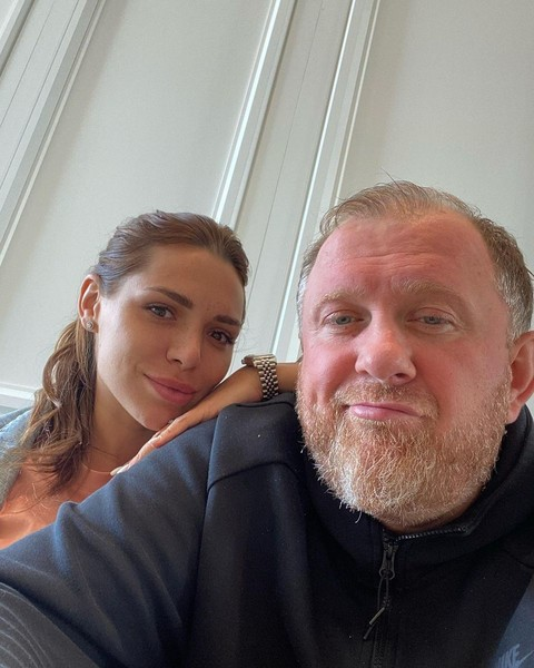 Константин Ивлев с новой избранницей Валерией