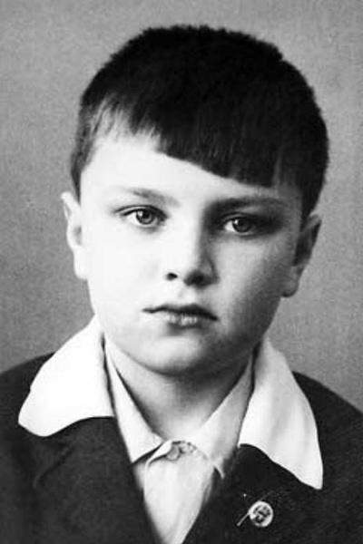 Владимир с детства увлекался спортом