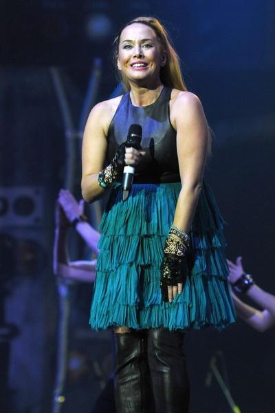 Певица выступала на поздних сроках беременности