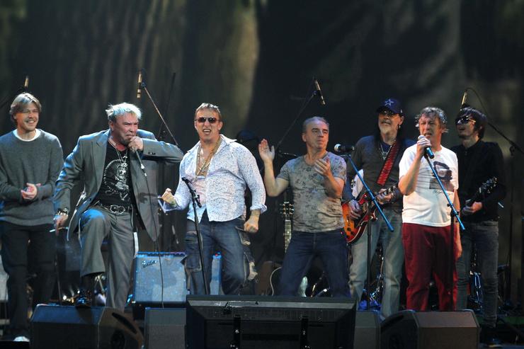 50-летие Михаил отмечал с друзьями большим концертом в столичном «Крокусе»