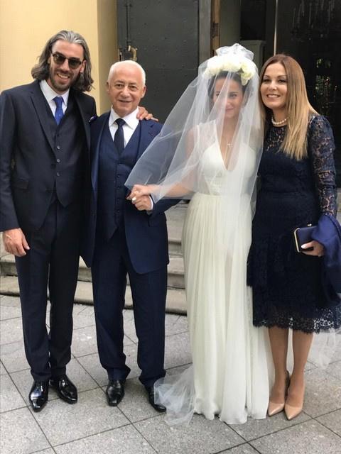 Владимир и Сати Спиваковы с молодоженами