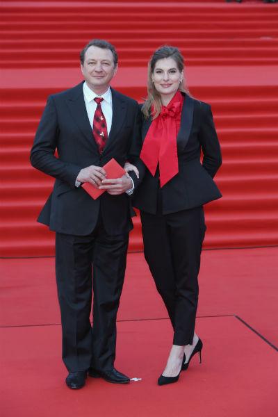 Марат Башаров с женой Лизой
