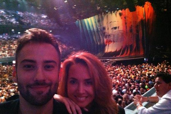 Звездная пара на концерте в Берлине