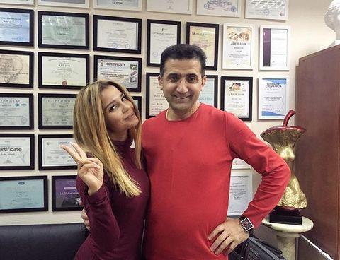 Екатерина Колисниченко на приеме у пластического хирурга