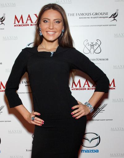 Певица, актриса и телеведущая Алина Арц