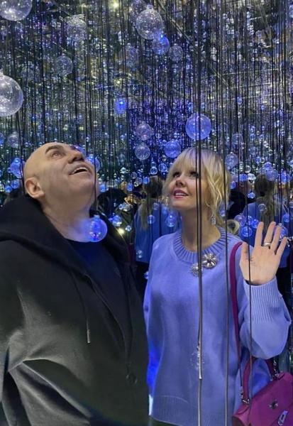 Иосиф Пригожин и Валерия частые гости «голубых огоньков»