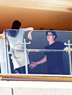 Анджелина Джоли и Брэд Питт разговаривали на повышенных тонах