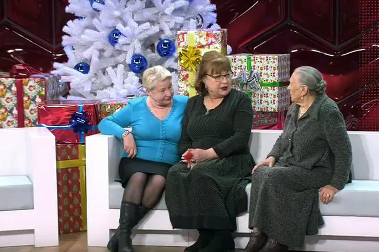 Татьяна Кравченко с мамой и сестрой Александрой