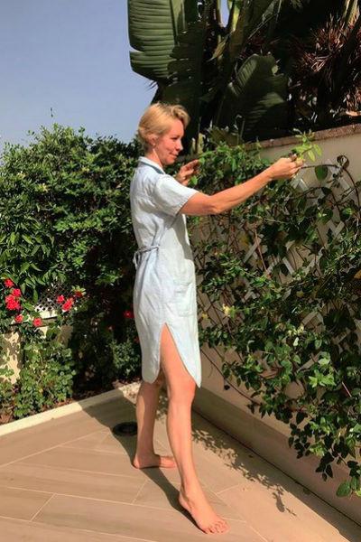 Татьяна Лазарева в Испании увлеклась садоводством