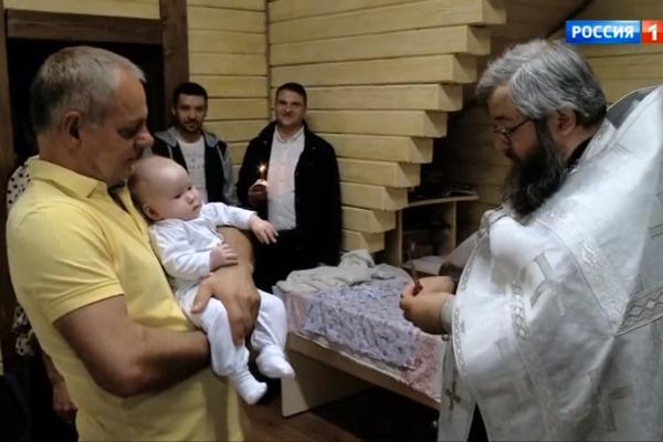 Александр Мохов стал крестным отцом девочки