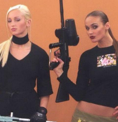 Ольга Бузова и Алена Водонаева