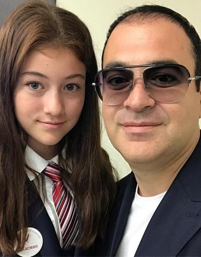 Гарик Мартиросян с дочерью Жасмин