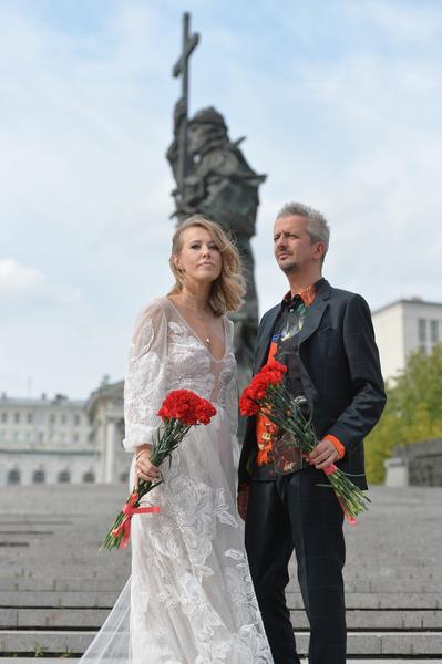 13 сентября 2019-го Собчак и Богомолов поженились